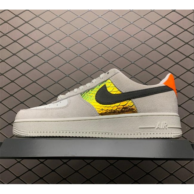 Mens/Womens Nike Air Force 1 Low Iridescent Snakeskin On Sale