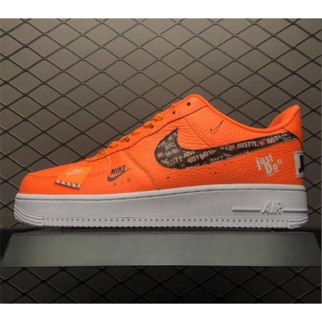 Mens/Womens Nike Air Force 1 Low Just Do It Total Orange