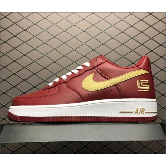 Mens Nike Air Force 1 Low Premium LeBron James 306353-671
