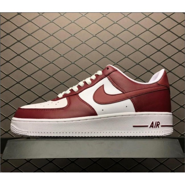 Mens Nike Air Force 1 Low Red White AQ4134-600 Size