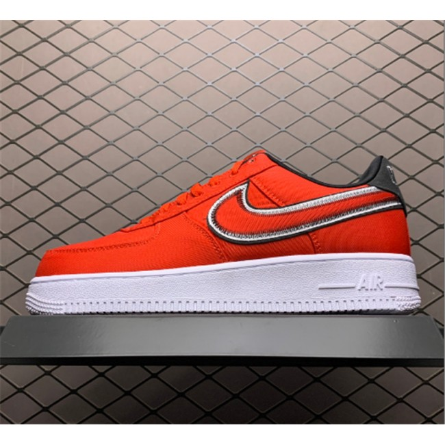 Mens/Womens Nike Air Force 1 Low Reverse Stitch Pack Red White