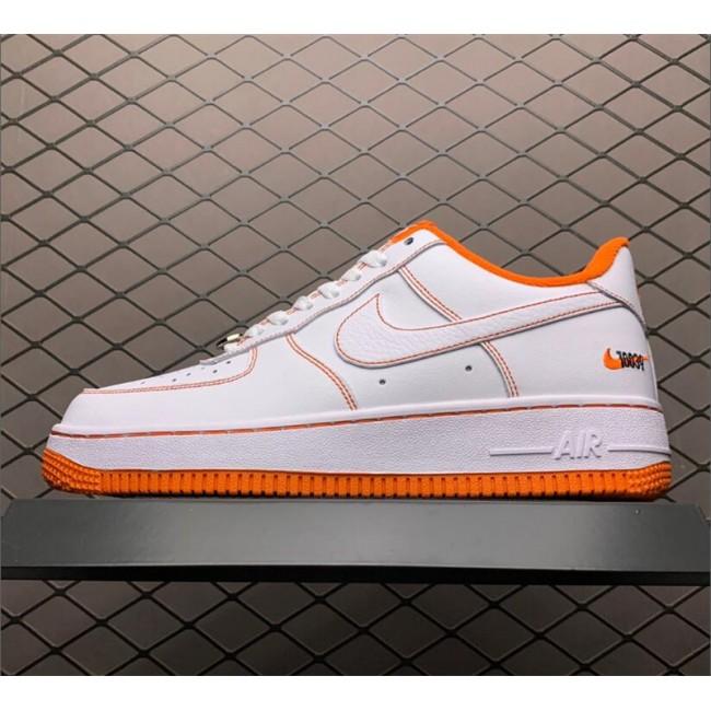 Mens/Womens Nike Air Force 1 Low Rucker Park Orange White