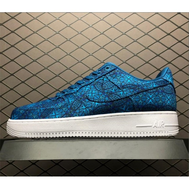Mens/Womens Nike Air Force 1 Low Stained Glass Green Abyss