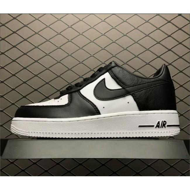Mens Nike Air Force 1 Low Tuxedo Black White