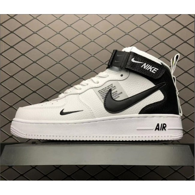 Mens/Womens Nike Air Force 1 High Utility White Black