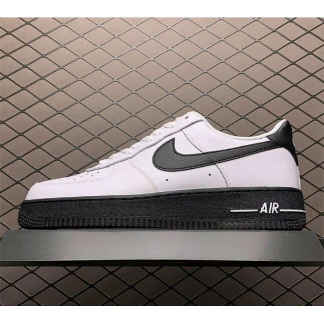 Mens/Womens Nike Air Force 1 Low White Black Midsole