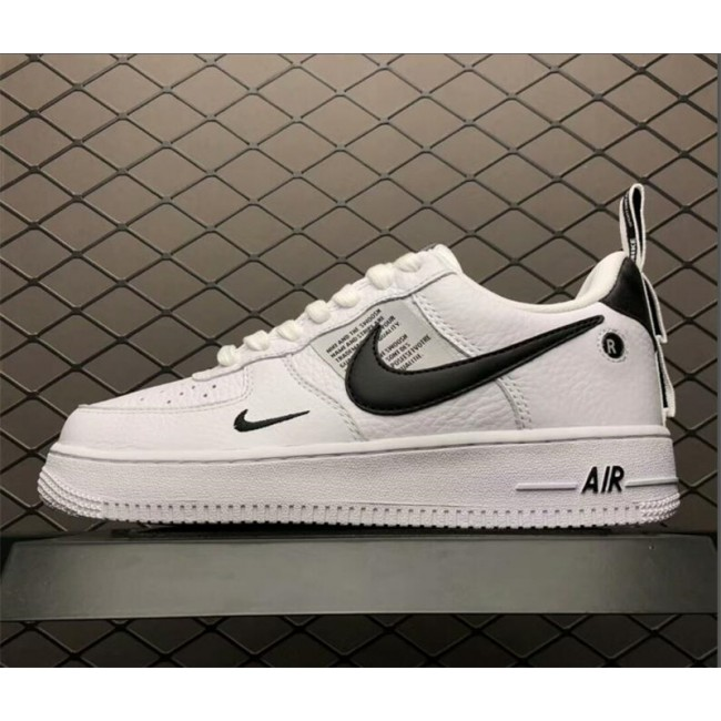 Mens/Womens Nike Air Force 1 Low White Black-Tour Yellow