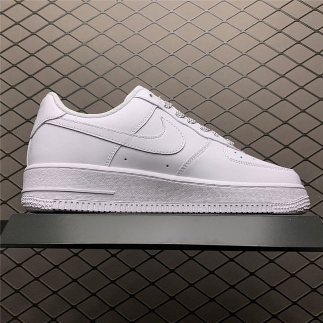 Mens/Womens Nike Air Force 1 Low White Butterfly N-0255