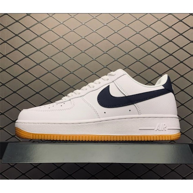 Mens/Womens Nike Air Force 1 Low White Gum CI0057-100