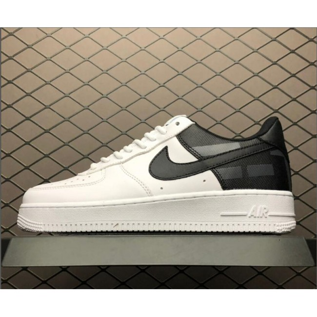 Mens/Womens Nike Air Force 1 Low White White Black