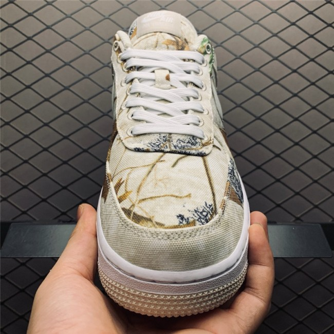 Mens/Womens Nike Air Force 1 Realtree Camo White Light Bone