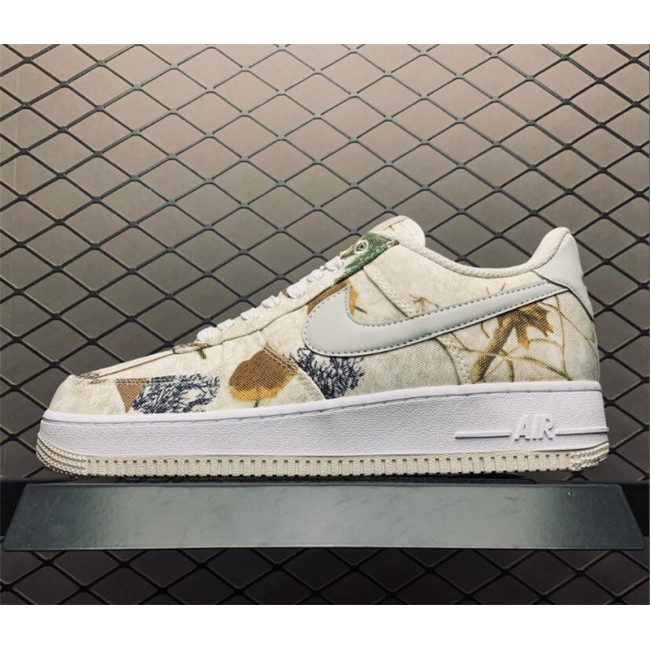 Mens/Womens Nike Air Force 1 Realtree Camo White Light Bone