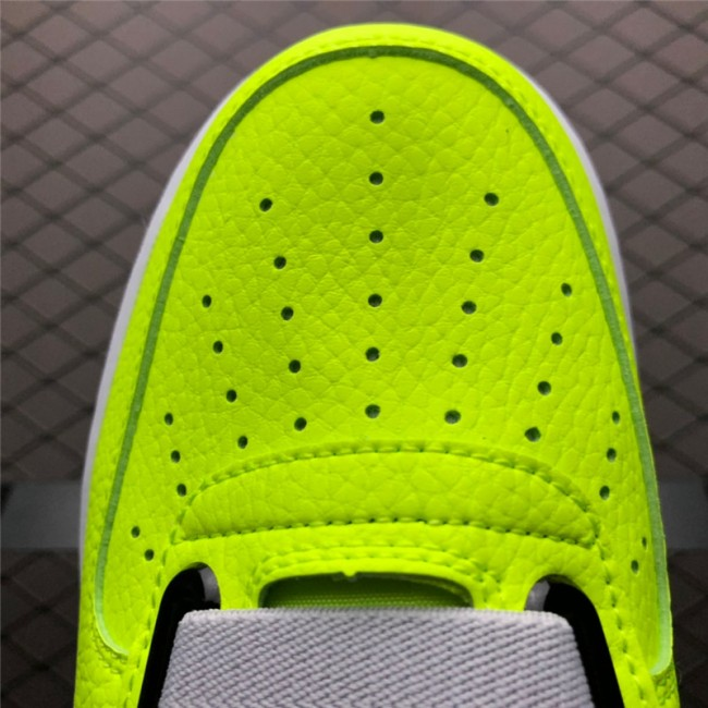 Mens/Womens Nike Air Force 1 Utility Volt Yellow Grey
