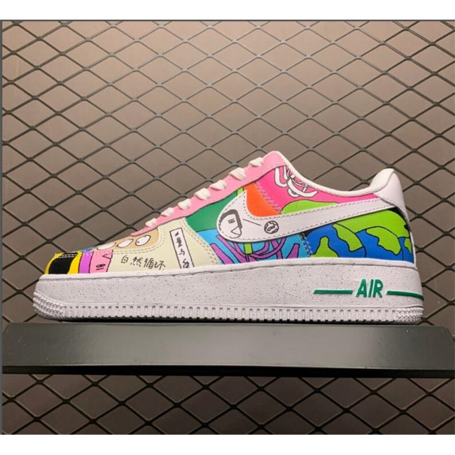 Mens/Womens Ruohan Wang x Nike Air Force 1 Low CZ3990-900
