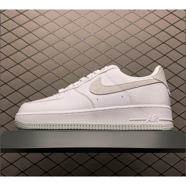 Mens/Womens Shop Nike Air Force 1 Craft White And Grey
