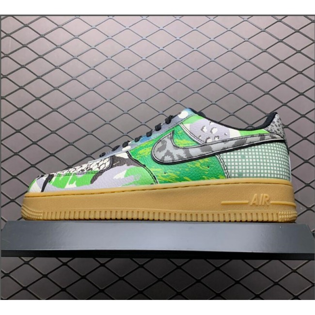 Mens/Womens Shop Nike Air Force 1 Low City Of Dreams Green Spark