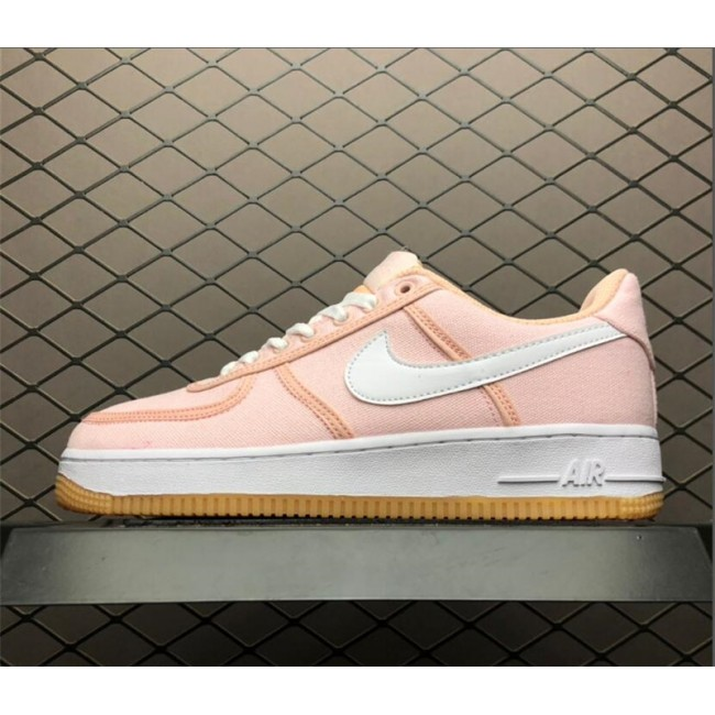 Womens Nike Air Force 1 07 PRM Beige Pink On Sale