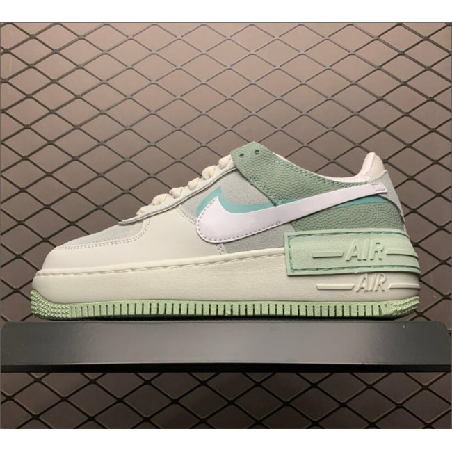 Womens Nike Air Force 1 Shadow Spruce Aura Outlet CW2655-001