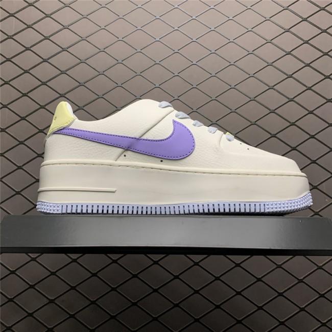 Womens Nike Air Force 1 Sail Medium Violet CN2579-151