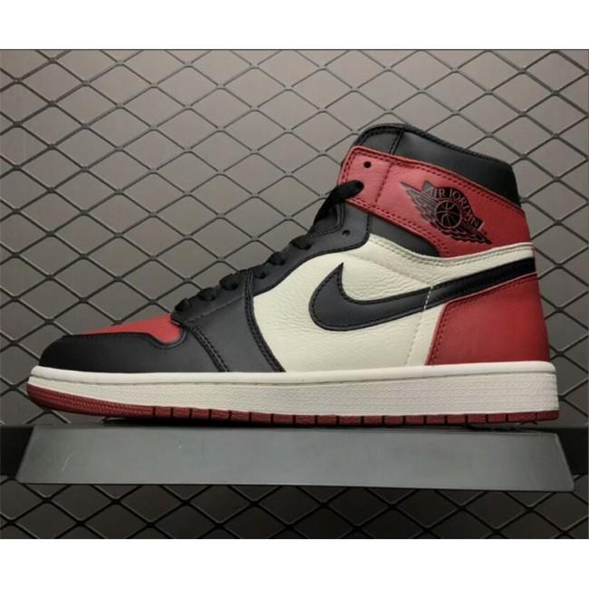 Mens Air Jordan 1 Retro High Bred Toe For Sale