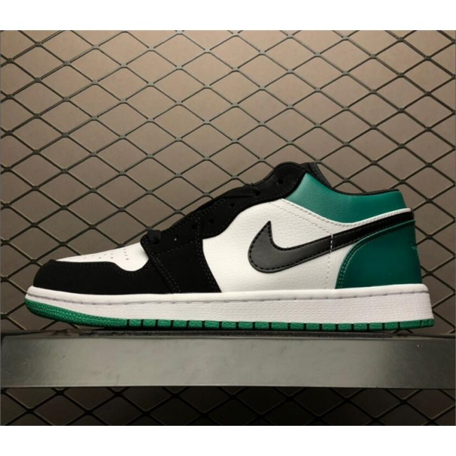 Mens Jordan 1 Low Mystic Green For Sale 553558-113