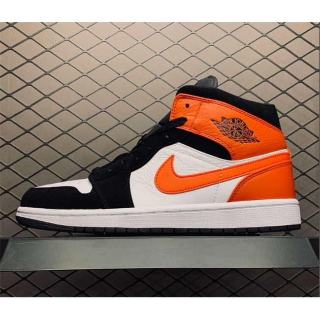 Mens/Womens New Air Jordan 1 Mid Shattered Backboard Black
