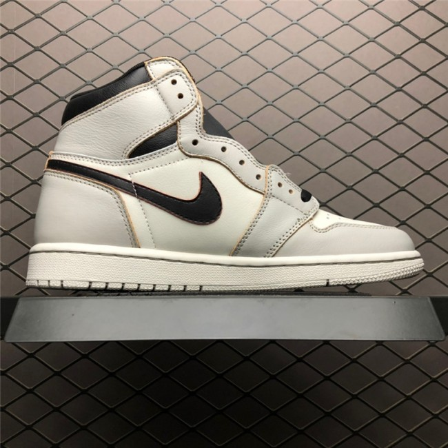 Mens Nike SB x Air Jordan 1 High OG Light Bone