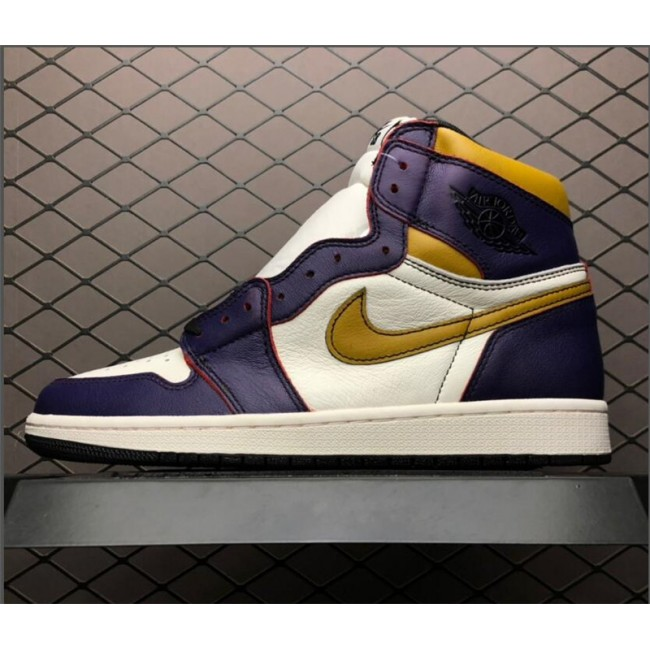 Mens Nike SB x Air Jordan 1 Retro High OG Court Purple