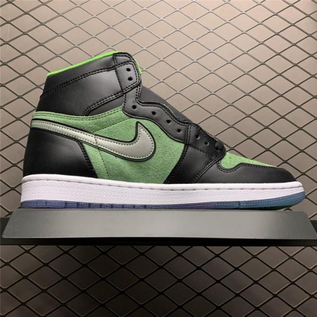 Mens Air Jordan 1 High Zoom Rage Green Sneaker