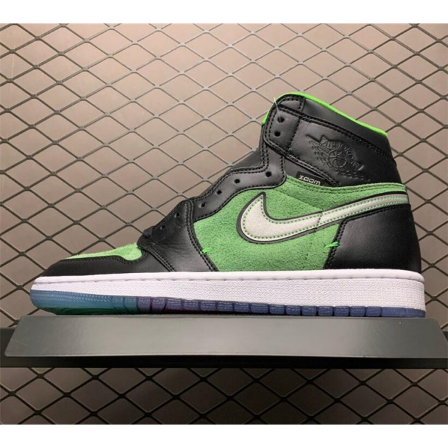 Mens Air Jordan 1 High Zoom Rage Green Sneaker