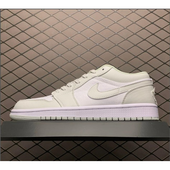 Mens/Womens Air Jordan 1 Low Spruce Aura Basketball Shoes