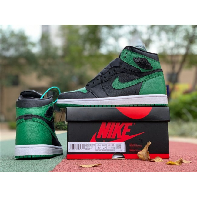 Mens Air Jordan 1 Retro High OG Pine Green On Sale