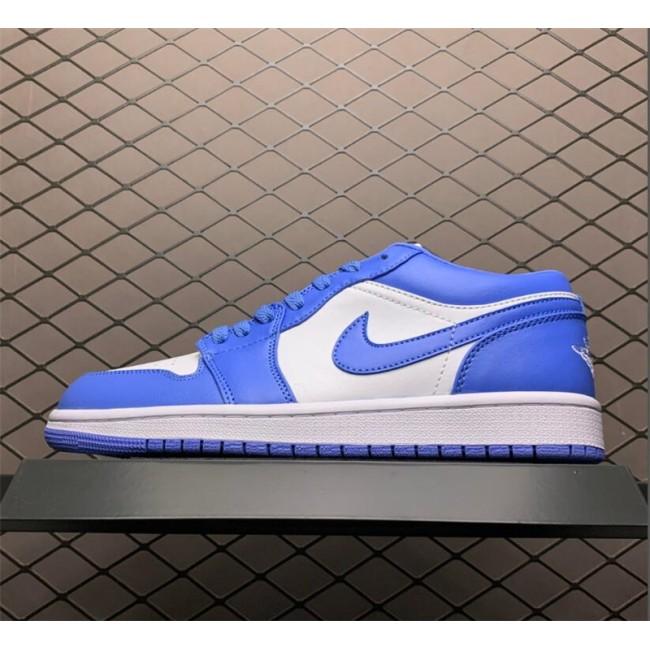 Mens/Womens Cheap Nike Air Jordan 1 Low UNC Light
