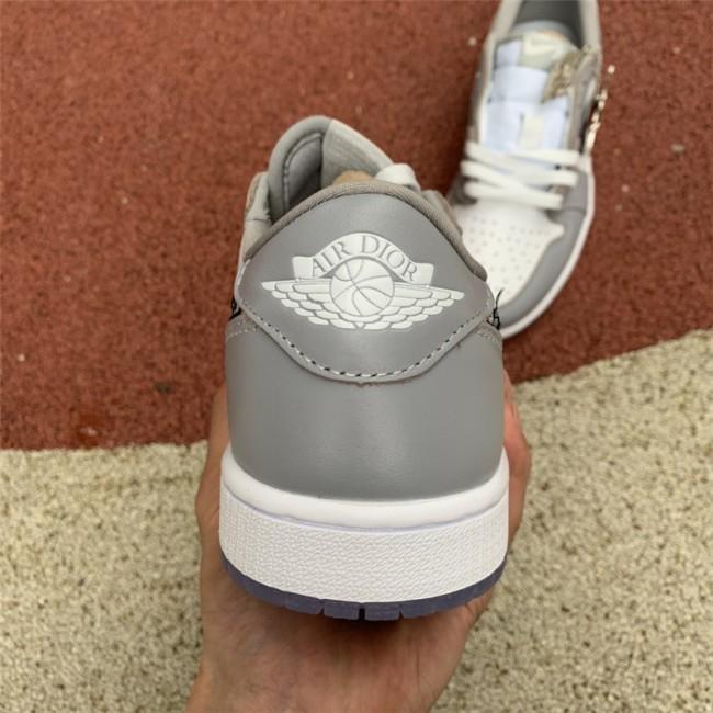 Mens Dior x Air Jordan 1 Low For Sale CN8608-002