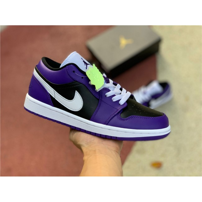 Mens/Womens 2021 Air Jordan 1 Low Court Purple Sneakers To Buy