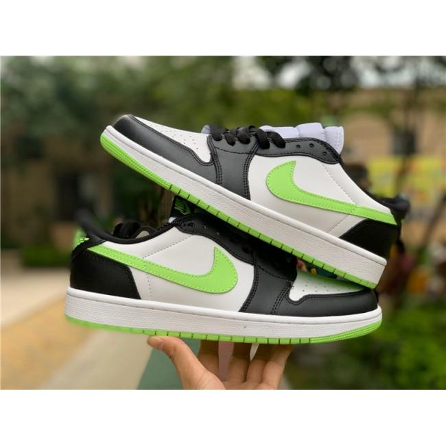 Mens/Womens 2021 New Air Jordan 1 Low OG Ghost Green