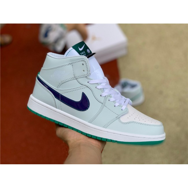 Mens/Womens 2021 Newest Air Jordan 1 Mid Nike Pregame Shoes