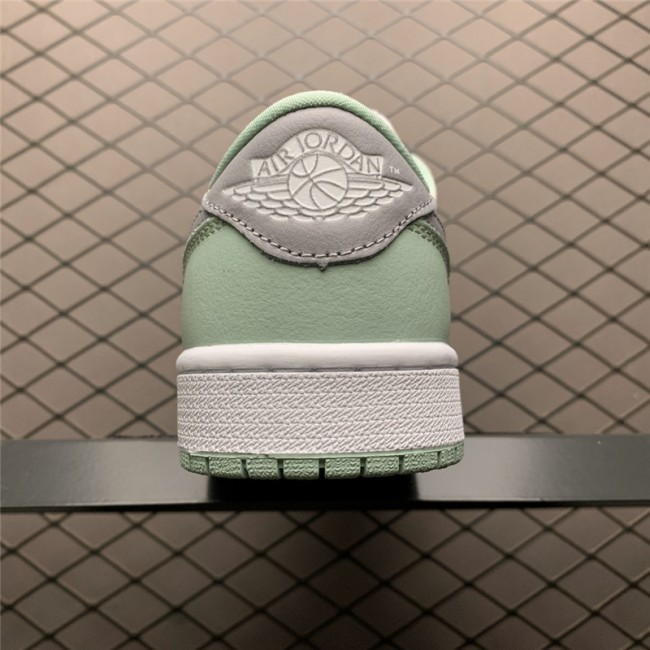 Mens/Womens 2021 Release Air Jordan 1 Low OG Neutral Grey White