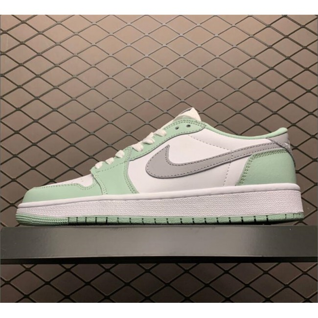 Mens/Womens 2021 Release Air Jordan 1 Low OG Neutral Grey White