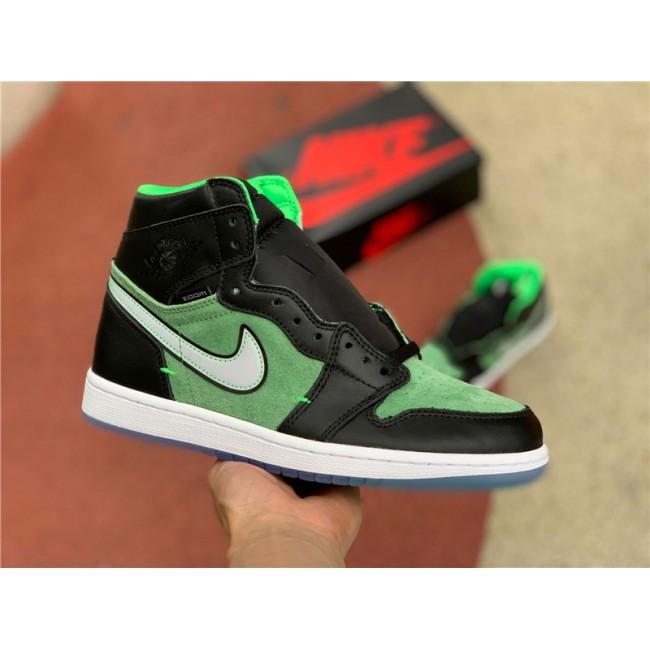 Mens Air Jordan 1 High Zoom Rage Green For Sale