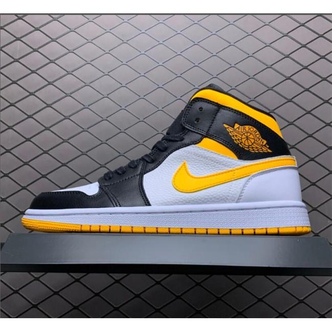 Mens/Womens Air Jordan 1 Mid Laser Orange Basketball Shoes