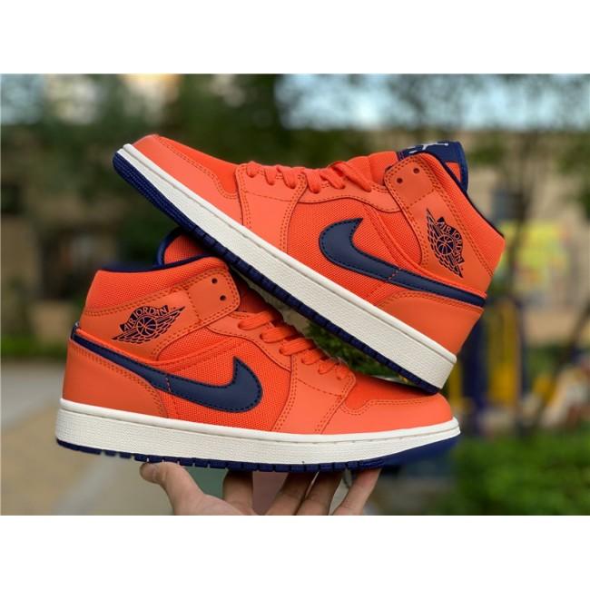 Mens/Womens Air Jordan 1 Mid Turf Orange Shoes To Buy CD7240-804