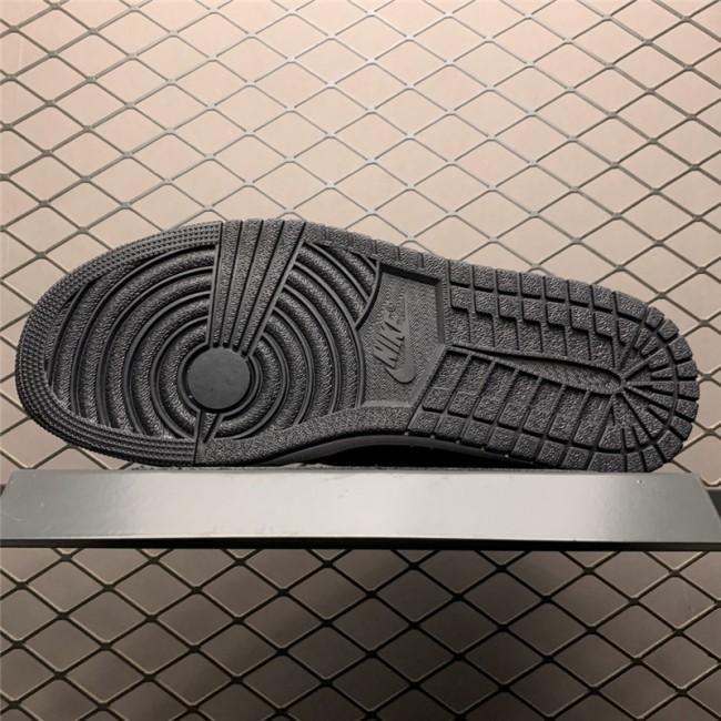 Mens/Womens Buy Air Jordan 1 Low Yin Black/White Shoes
