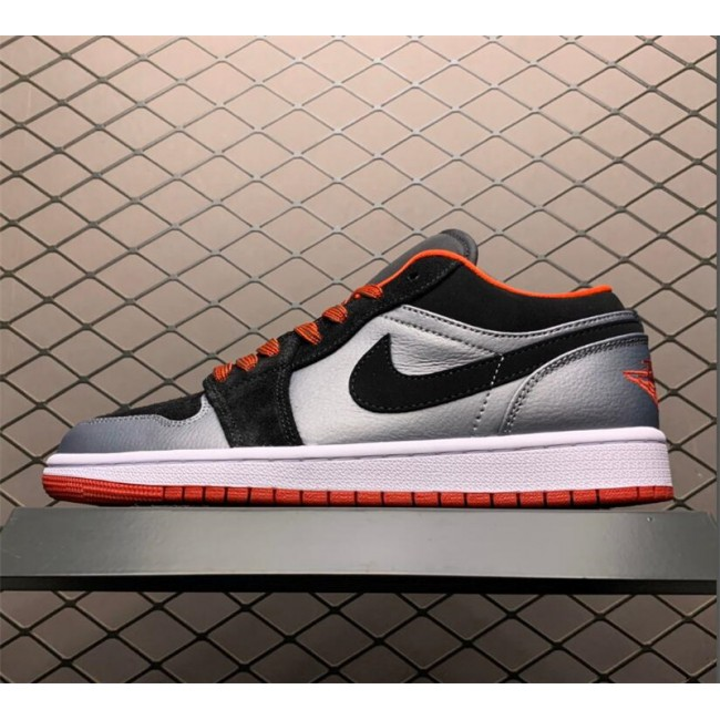 Mens/Womens Buy Air Jordan 1 Retro Low Dark Grey Black