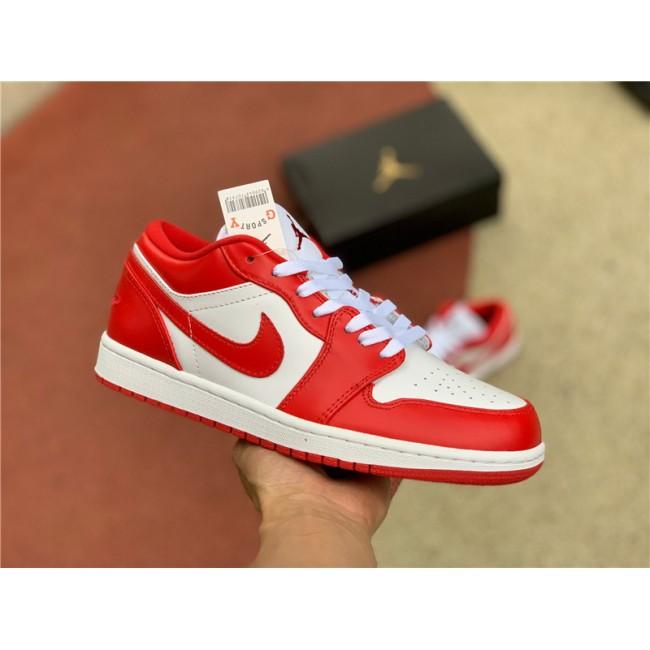 Mens/Womens Buy New Air Jordan 1 Low Gym Red White