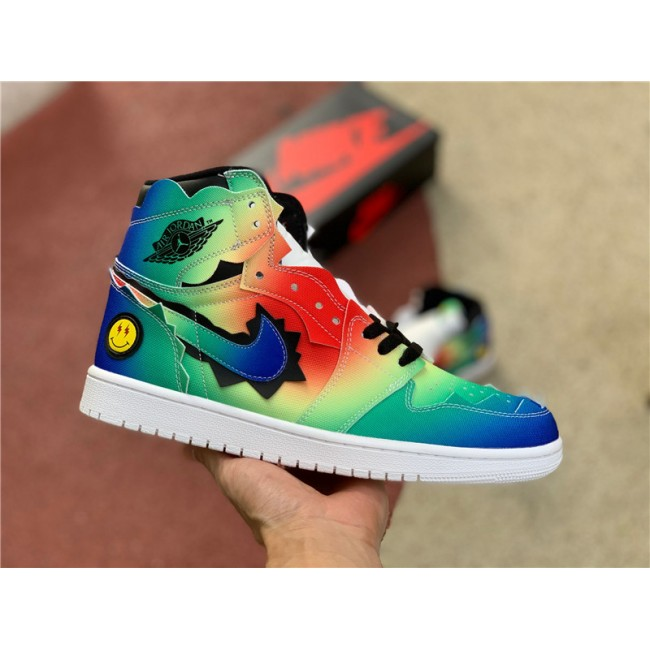 Mens Buy Nike Air Jordan 1 x J Balvin Multi-color