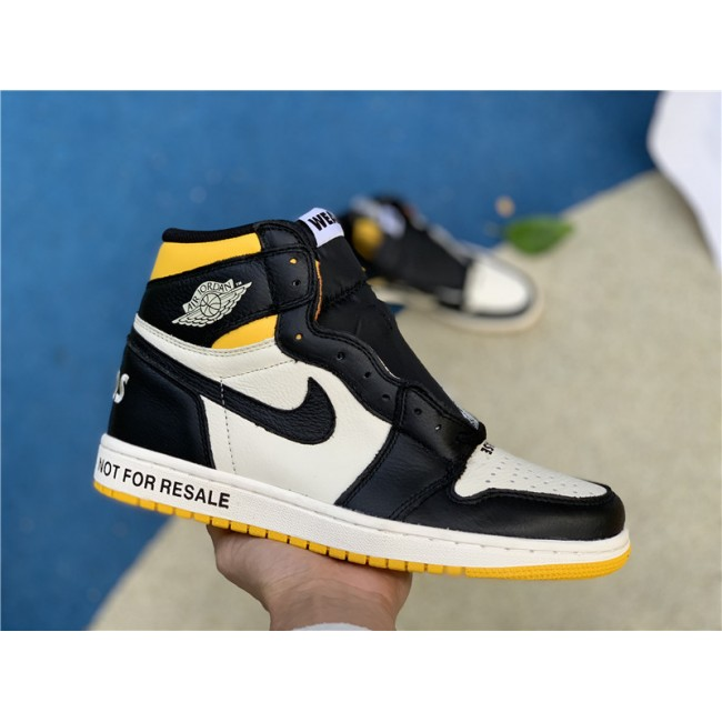 Mens/Womens Cheap Air Jordan 1 Retro High OG NRG No Ls Varsity Maize