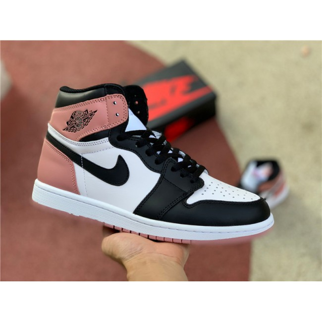 Mens/Womens Cheap Air Jordan 1 Retro High OG NRG Rust Pink