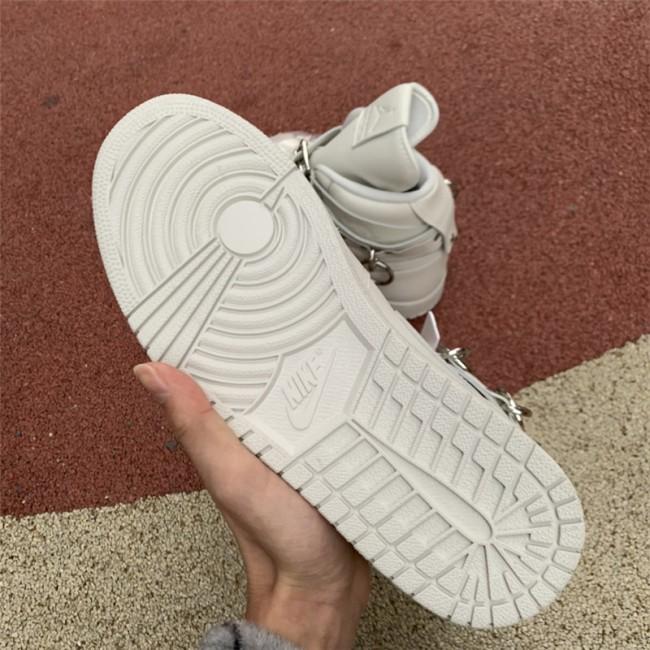 Mens/Womens Cheap Comme des Garçons x CDG Air Jordan 1 White