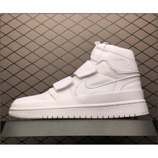 Mens/Womens Discount Air Jordan 1 Retro High Double Strap Summit White